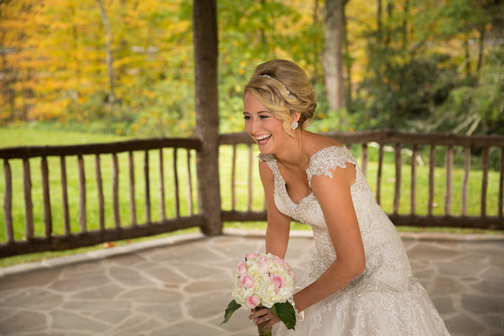 happy bride linville nc gazebo