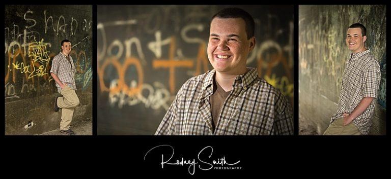 senior guy portraits, tunnel, graffiti, Blue Ridge Parkway, western NC, western North Carolina