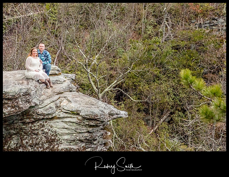 Rodney Smith Photography, Wiseman's View, Linville Gorge, engagement photography, engagement session
