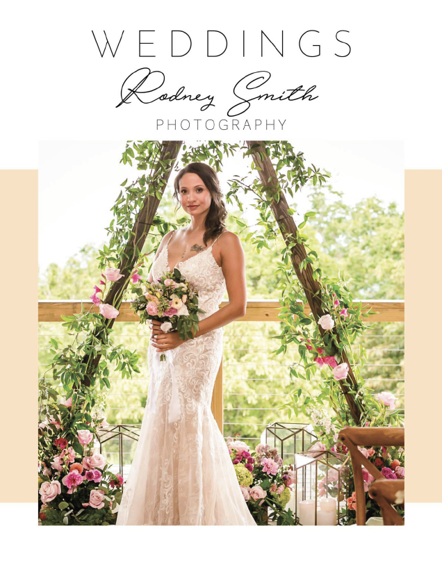 wedding magazine front page