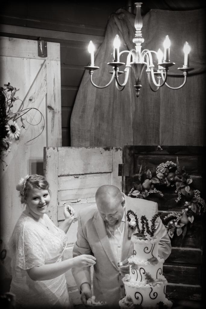 barn wedding, Triple J Farms, Roan Mountain, TN