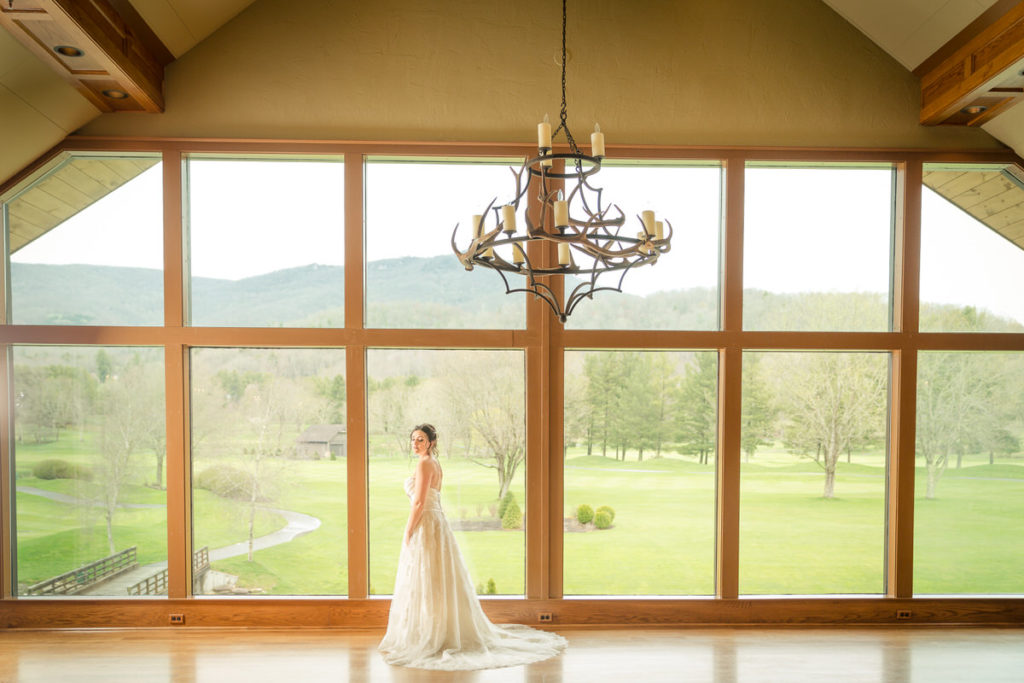 Elk River Country Club Bridal Portrait