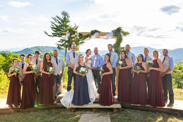 wedding party formal